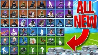 ALL *NEW* LEAKED SKINS/ITEMS in Fortnite! - NEW Sky Stalker, Fate, & MORE in Fortnite Battle Royale