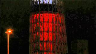 Tokyo skyscraper turns red, white and blue in solidarity with France