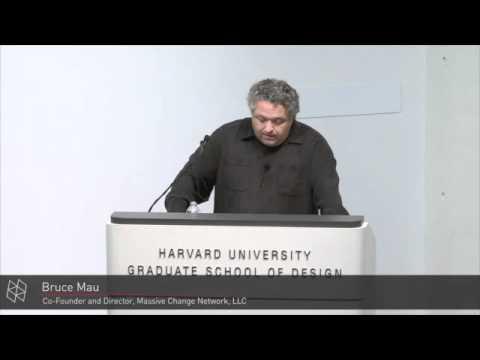Bruce Mau, 2012 Class Day Lecture