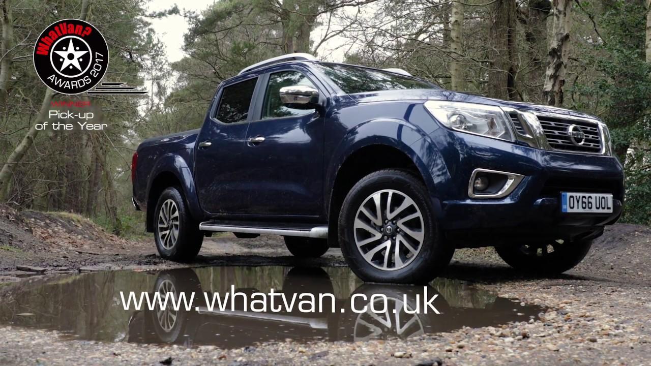 The Nissan Navara: WhatVan?\'s Pick-up of the Year 2017 - YouTube