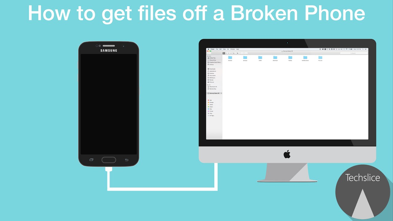 How To Get Files Off A Broken Phone  Youtube