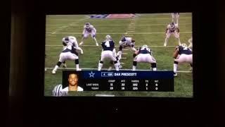 Dak Prescott Forgets His Helmet!!!   Giants Vs Cowboys   NFL