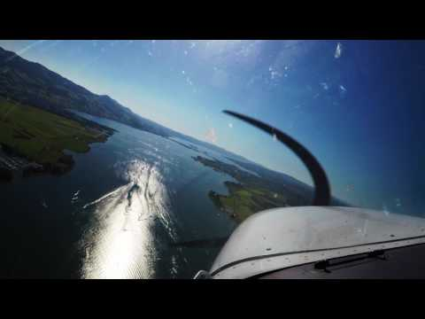 Zurich -  Wangen Lachen - Zurich w/ATC and Go Around