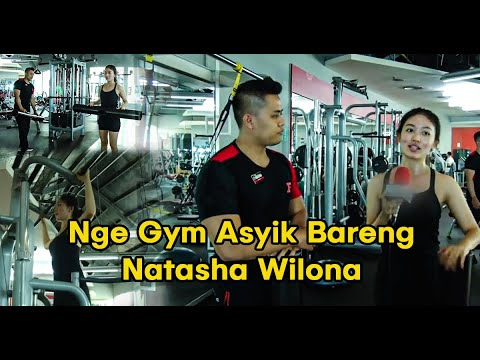 Asyik Nge Gym Bareng Natasha Wilona