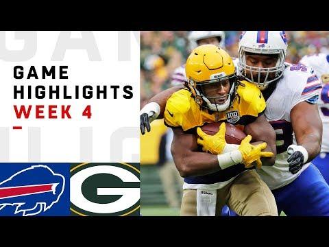 Bills vs. Packers Week 4 Highlights | NFL 2018