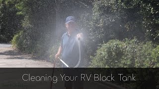 Cleaning RV Black Tank