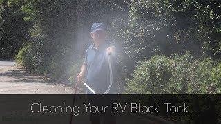 Cleaning RV Black Tank