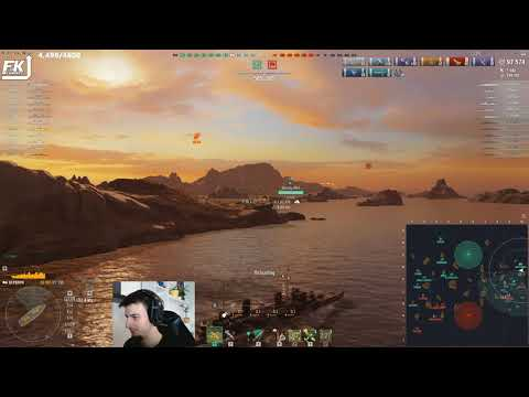 World Of Warships - Trolling With Perth