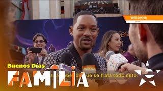 PREMIERE DE ALADDIN EN HOLLYWOOD! - Buenos Días Familia