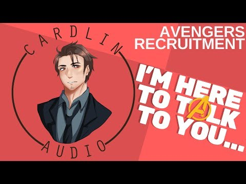 ASMR Roleplay: I'm here to talk to you [Marvel] [Avengers Recruitment]