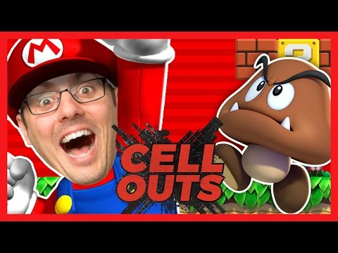 SUPER MARIO RUN IN REAL LIFE (Cell Outs)