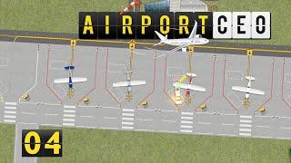 Airport CEO | Personalraum und Ergebnise ► #4 Flughafen Bau Management Simulation deutsch german