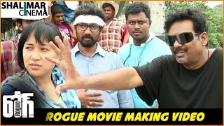 Rogue Movie Climax Scene Making || Rogue || Ishan, Mannara Chopra, Puri Jagannadh || Shalimarcinema