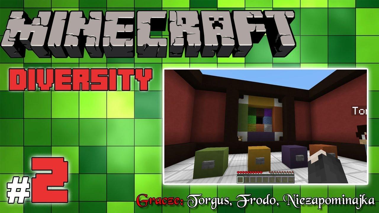 """Minecraft Escape: Diversity z Frodo/Torgus! [2/x] – """"Pytania i przekładanki"""""""