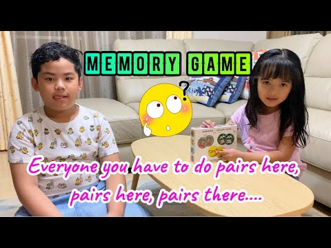 MEMORY GAME | INDOOR GAME FOR KIDS | ESL GAMES