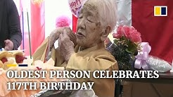 World's oldest living person, Kane Tanaka, celebrates her 117th birthday in Japan
