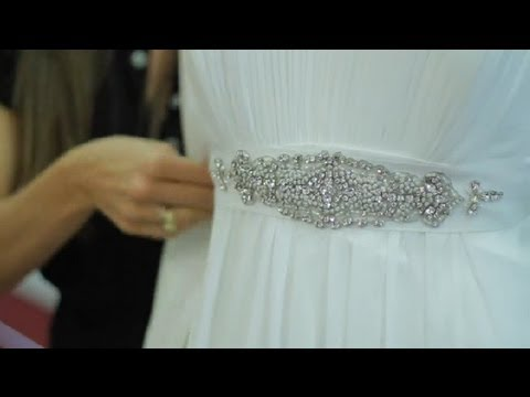 How To Dress Up A Simple Long Sheath For Wedding The