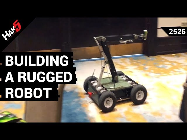 Building a Rugged Robot with Glytch - Hak5 2526