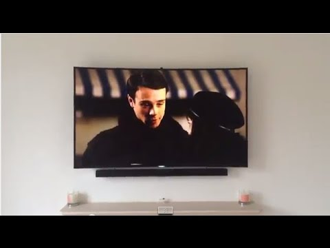Samsung 8500 Uhd 4k Curved Tv First Impressions Youtube
