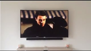 Samsung 8500 UHD 4K curved TV. First impressions