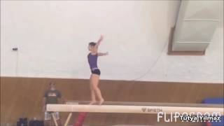 Catalina Ponor New Beam Mount & Floor Routine, Layout Step Out Full on Beam