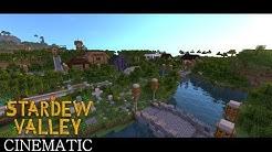 """Minecraft - """"Stardew Valley"""" Cinematic"""