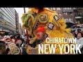 Chinatown, NYC: Chinese Lunar New Year