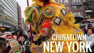 Chinatown Nyc Chinese Lunar New Year