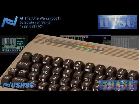 All That She Wants 6581  Edwin van Santen  1992  C64 chiptune