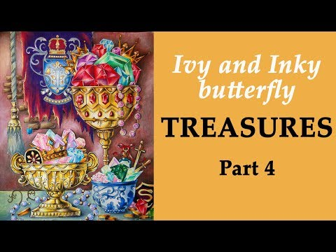 ivy-and-inky-butterfly-treasures.-part-4-/-coloring-for-beginners