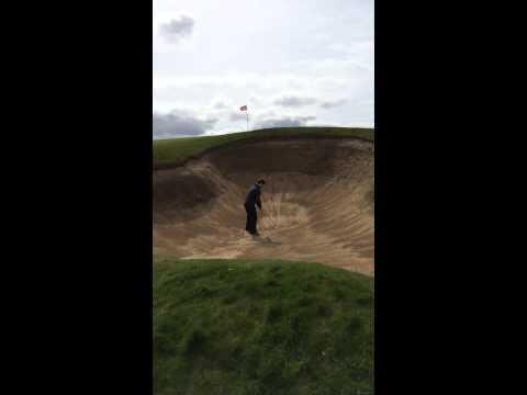Deep Bunker Doonbeg Golf Club