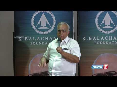 Pyramid Natarajan on his rift with director K. Balachander | News7 Tamil