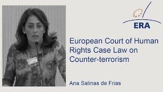 European Court of Human Rights Case Law on Counter-terrorism