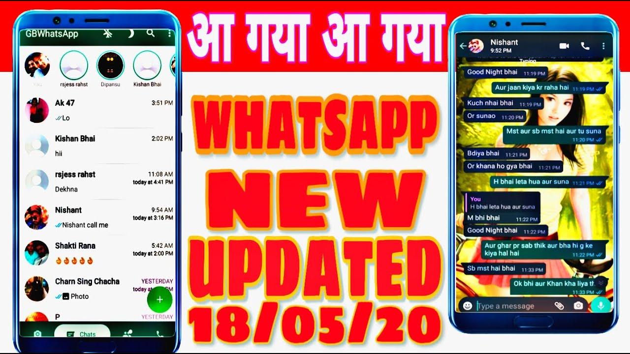 WhatsApp new Version 2020 download install / GB Whatsapp ...