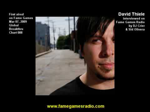 (1/2) David Thiele - Why Isn't He Famous Yet? (Fame Games Radio Interview)