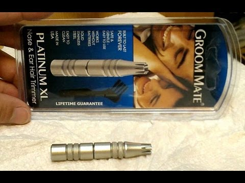 Groom Mate Platinum Xl Nose And Ear Hair Trimmer Review Disembly