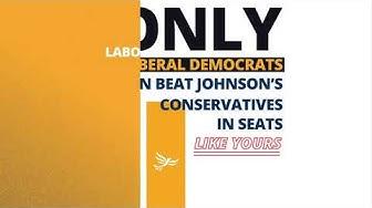 Vote Lib Dem - Stop Boris Johnson