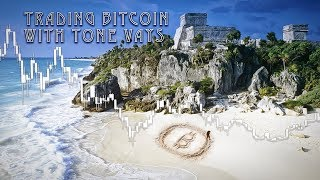 Trading Bitcoin - From Tulum Mexico