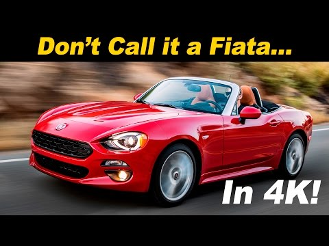 2017 Fiat 124 Spider Review And Road Test | DETAILED In 4K UHD!