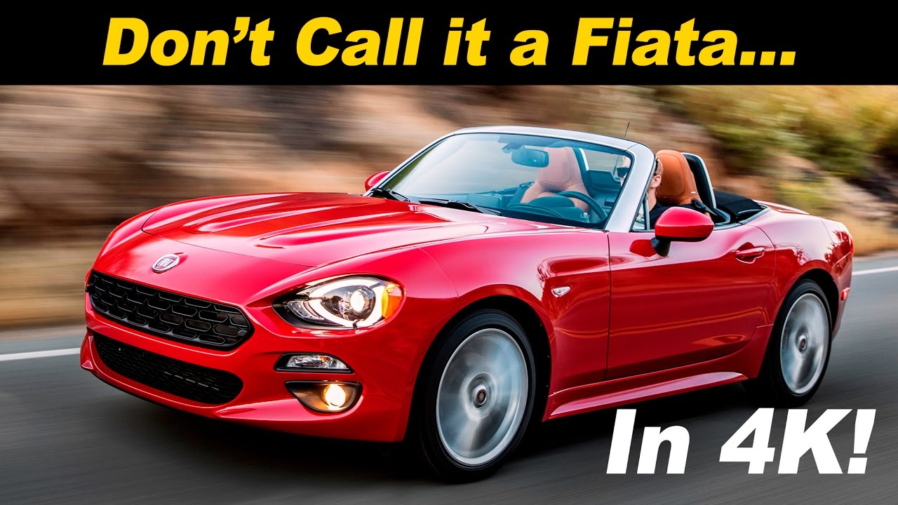 2017 fiat 124 spider review and road test | detailed in 4k uhd