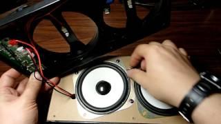 распаковка,вскрытие, тест и звук колонки MS-148BT с блютус, аудиовходом и поддержкой флешек