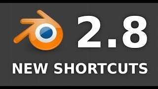 Blender 2.8 shortcuts have changed again!