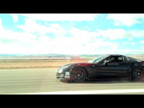 Mercedes-Benz SLS AMG vs Corvette ZR1 - Shift S3ctor Airstrip Attack - HG Motorsports