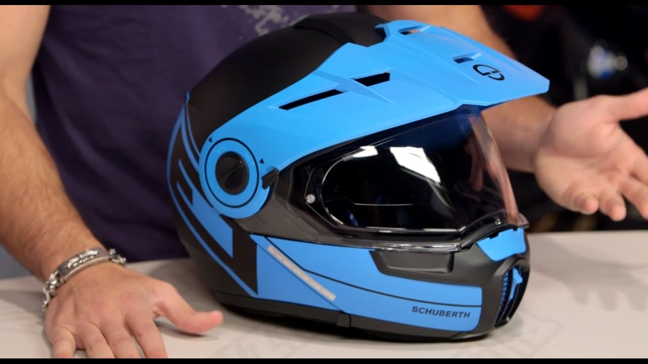 Motorcycle Helmets For Sale >> Schuberth E1 Radiant Helmet Review at RevZilla.com - YouTube
