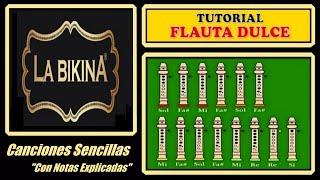 La Bikina en Flauta Dulce
