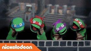 Teenage Mutant Ninja Turtles | Sock Puppet Theater Sketch | Nick