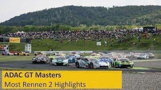 ADAC GT Masters Highlight Rennen 2 Most 2019
