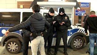 İstanbul'da  polisten 'şok' denetim
