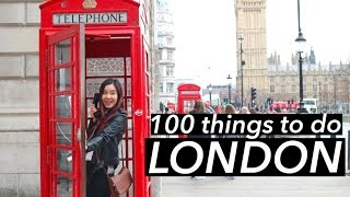 Top 100 Things To Do in London 🇬🇧