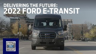 homepage tile video photo for The 2022 Ford E-Transit: Delivering the Future | E-Transit | Ford